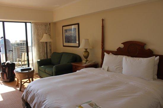 Oceanview Room Kalia 21st Floor Picture Of Hilton Hawaiian