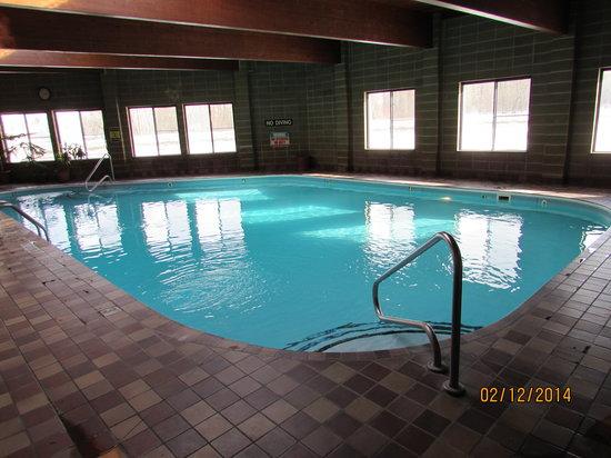 Beartooth Hideaway Inn & Cabins: Large Indoor Pool