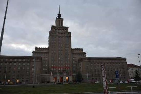 Hotel International Prague: ホテルの全景