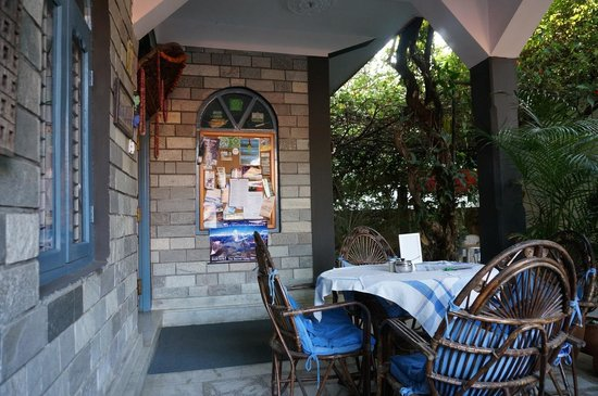 Sacred Valley Inn Pokhara: Front of the hotel