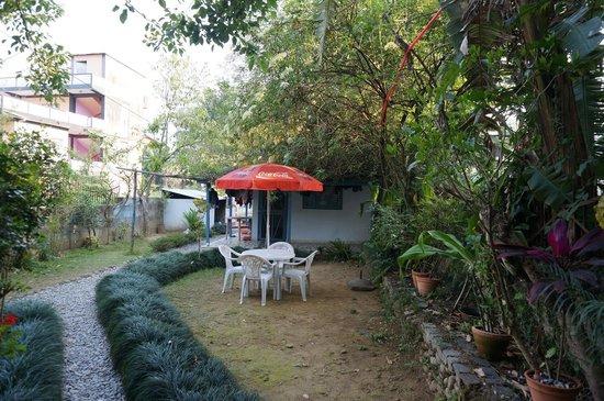 Sacred Valley Inn Pokhara: Back of the hotel