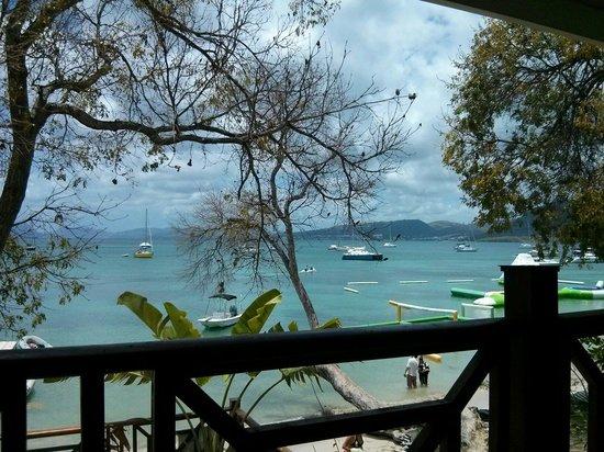 Creola Beach : Vue sur la mer
