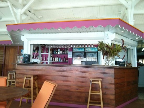 Creola Beach : Bar du restaurant