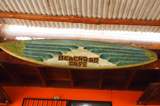 Beach Dog Cafe : Authentic decor