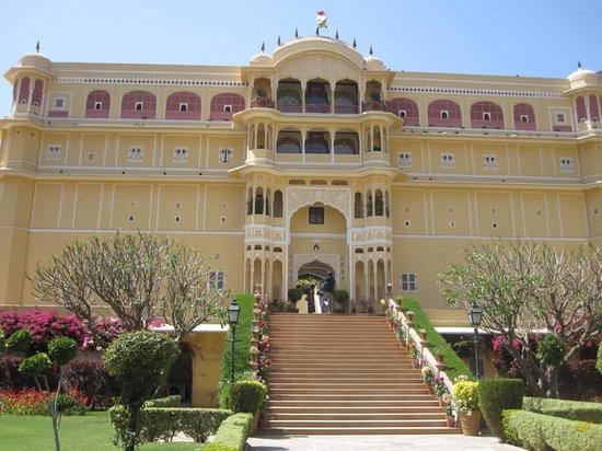 Samode Palace : The entrance