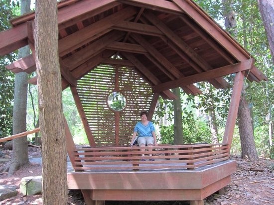 "Sarah P. Duke Gardens : a ""bird house"""