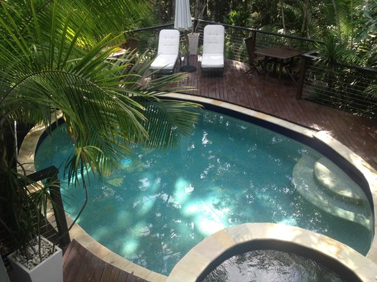 Azabu Boutique Accommodation Byron Bay: Pool Area