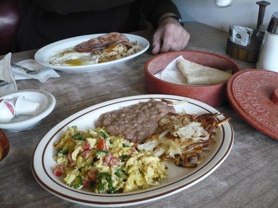 Nancy's Silver Cafe : Mexican eggs