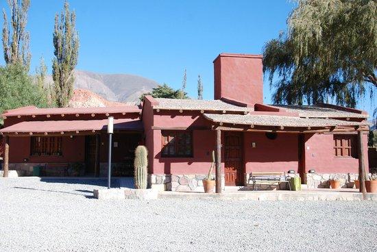 Posta de Purmamarca : Un cactus à l'entrée de chaque chambre