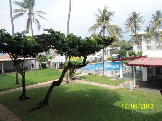 Berjaya Hotel Colombo: View from my balcony