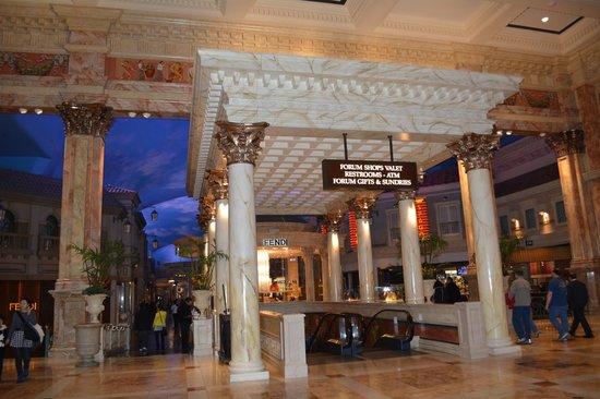 Caesars Palace: Área do Hotel