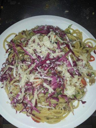 Il Poggio : Carbonara vegetariana
