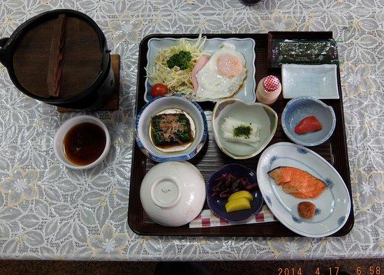 Seikoso: 朝食