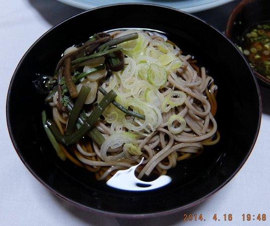 Seikoso: とどめの蕎麦です。