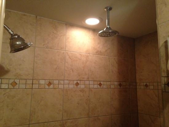 Westgate Myrtle Beach Oceanfront Resort: shower was amazing in tower 2