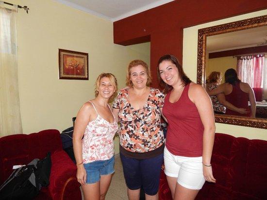 Casa Maura Habana Vieja: Con la genia de Maura!