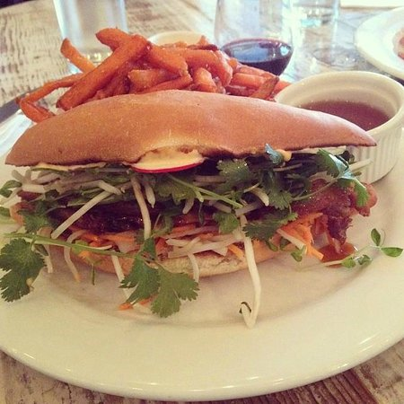 The Kitchen Door: Duck Banhmi Sandwhich