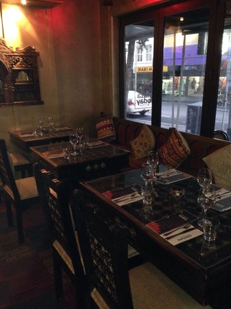 India Today Tandoor and Bistro: Tables beautifully set out.
