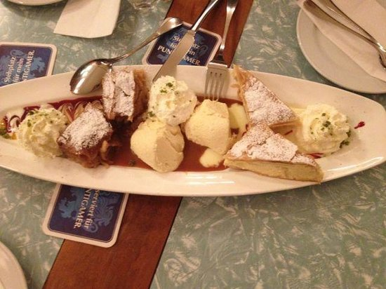 Wild : A plate of excellent desserts