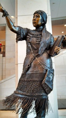 U.S. Capitol: Nevada statue.  Every state has a statue in the capitol
