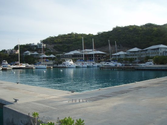 Scrub Island Resort, Spa & Marina, Autograph Collection : Marina, Our Boat is the Power Cat.