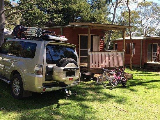 Queen Mary Falls Caravan Park & Cabins : Studio Cabin 4