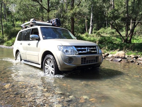 Queen Mary Falls Caravan Park & Cabins : The Condamine River Road. You need an AWD.