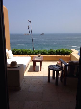 Capella Ixtapa: View from our 6th floor room- every morning...