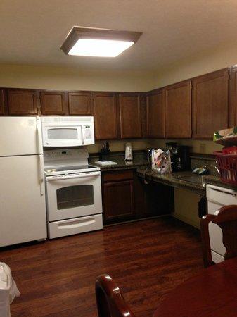 Wyndham Patriots Place: Kitchen