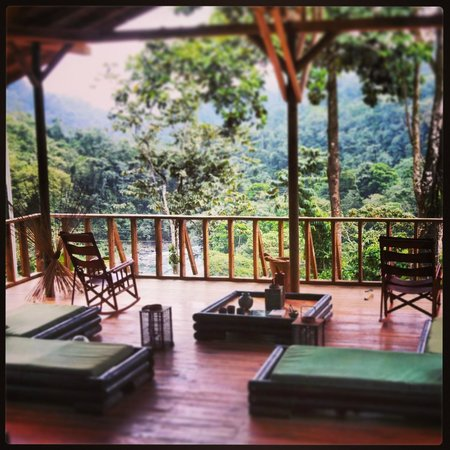 Pacuare Outdoor Center: the view from the lodge