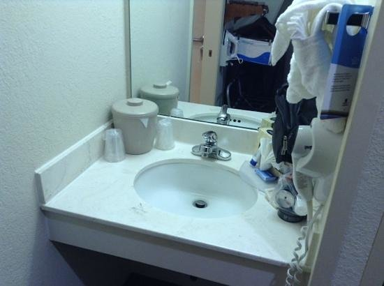 Fairfield Inn & Suites by Marriott Atlanta Alpharetta: sink