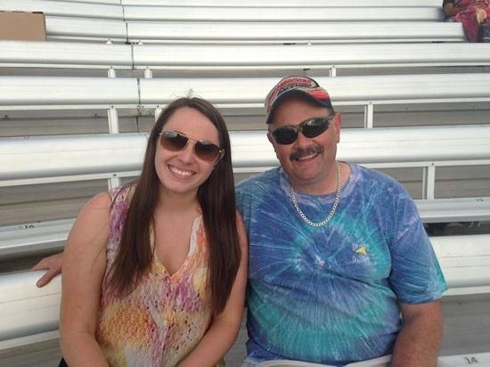 Richmond International Raceway: Father and daughter memories!