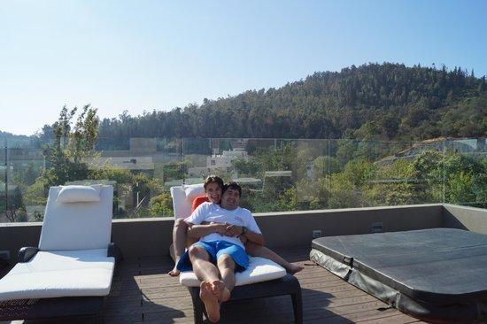 Hotel Los Espanoles Plus: terraza del hotel