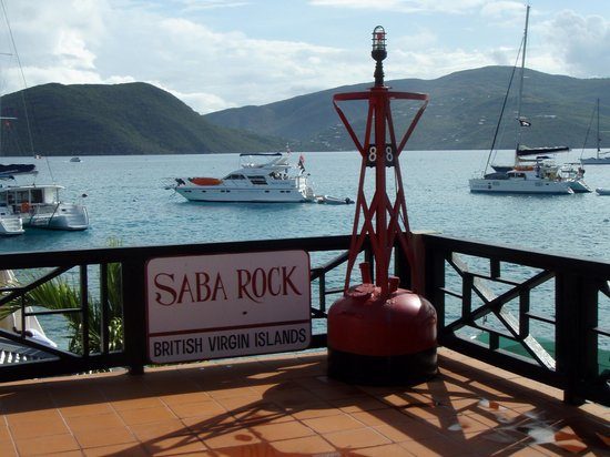 Saba Rock : A view from the Deck