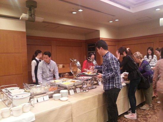 Hotel New Hiroden : Buffet Breakfast