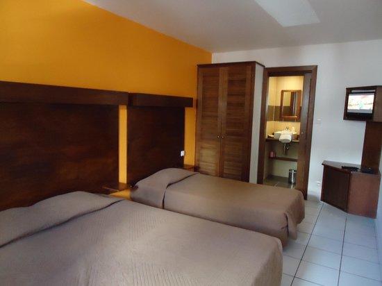 Le Centr'Hotel: detalhe da suite 111j