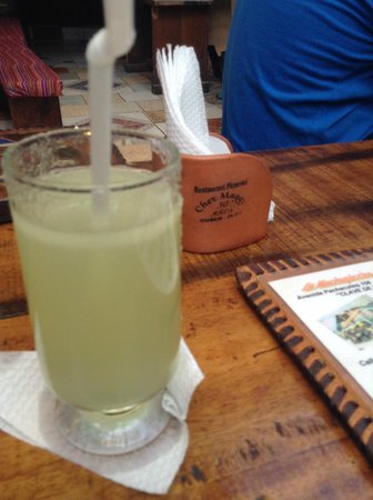 Chez Maggy: Fresh Apple Juice