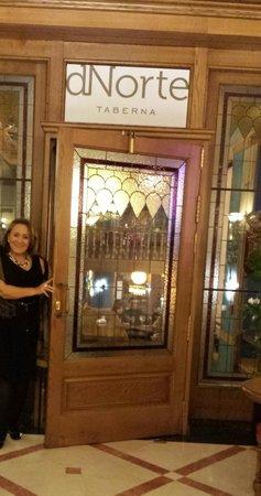 Hotel II Castillas: Entrando no restaurante do hotel!