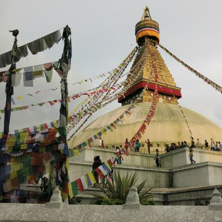 Estupa budista de Boudhanath: Overwhelming