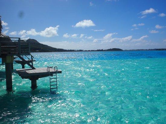 InterContinental Bora Bora Le Moana Resort: コテージからの眺め