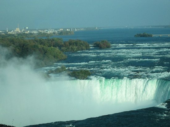 Niagara Falls Marriott Fallsview Hotel & Spa: Niagara Falls From Room