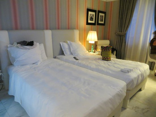 Grand Hotel Palace: Our beds