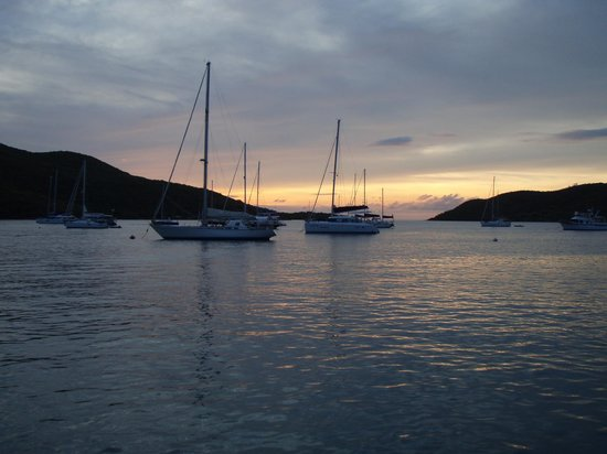 The Restaurant at Leverick Bay: Sunset in Leverick Bay