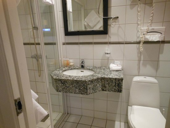Hotell Bondeheimen: バスルーム
