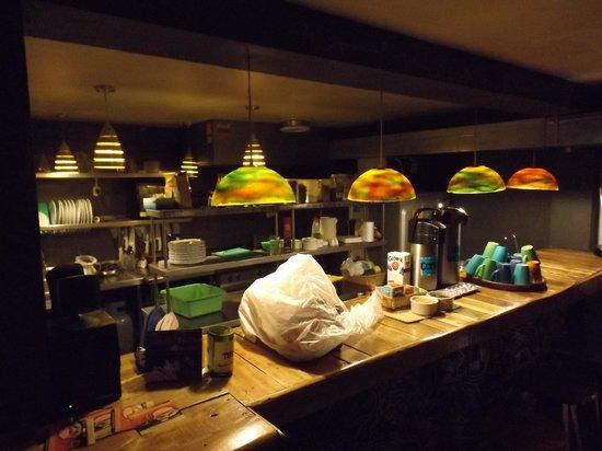 Supertramp Eco Hostel: Cocina