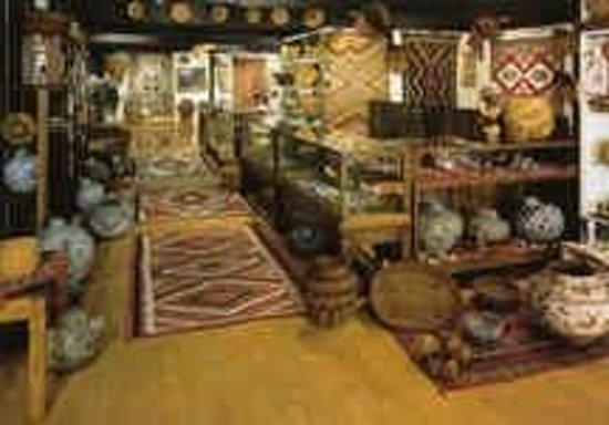 Len Wood's Indian Territory Gallery: Front Gallery at Len Wood's Indian Territory, Laguna Beach CA