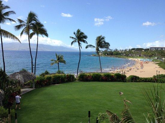 Four Seasons Resort Maui at Wailea: view from Serenity pool