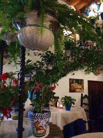 Taberna Restaurante Puerta Sevilla: Patio
