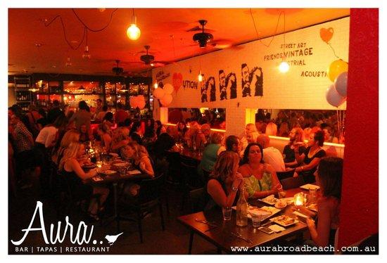 Aura Broadbeach : Inside Dining Area