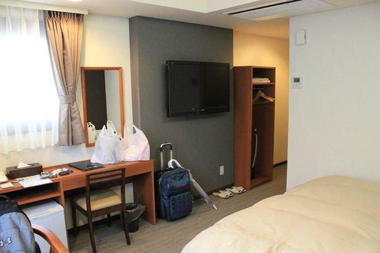 Nikko station hotel classic: Quarto hotel